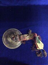 Vintage Tibetan Religious Temple Ritual Buddhism Brass Bell