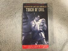 Touch of Evil (1958)-Vhs-Charlton Heston-Orson Welles -Promo / Screener-Rare-New