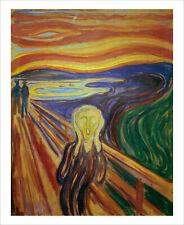 Munch - The Scream - fine art giclee print poster wall art various sizes