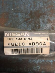 Front Brake Hose Chassis to Axle for Nissan Patrol GU 1997 - 2010 no ABS Genuine