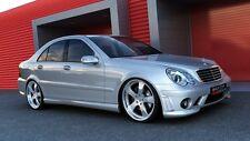 Mercedes W203 Set Ästhetik frontstoßstange e post röcke Komplett AMG look