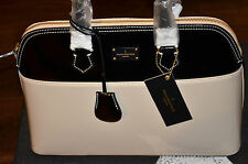 Paul's Boutique - Maisy Large Bag - Patent Nude / Black