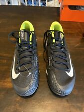 New listing Nike Air Zoom Zero Hc Tennis Shoes Black Volt Yellow Sneakers 10