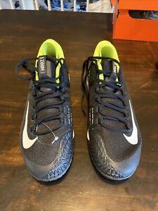 Nike  Air Zoom Zero HC  Tennis Shoes Black Volt Yellow Sneakers 10