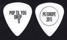 Roxette Per Gessle Pop Til You Drop Wht Guitar Pick - 2015 30th Anniversary Tour
