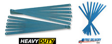 """12"""" 24 Tpi Senior Hacksaw Saw Carbon Steel Replacement Blades 300mm x 12mm"""