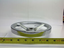 """8"""" Chrome Hand Wheel 5/8"""" center hole dia. (#754-C-1)"""