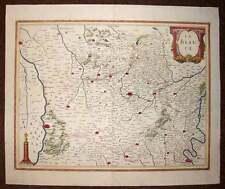 carte geographique ancienne originale REGION DE LA BEAUCE par Jansson 1640