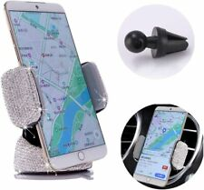 Bling Crystal Car Phone Mount with One More Air Vent Base, Universal Cell...