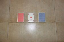 Fendi MONOGRAM Playing Cards Poker Burraco Canasta x3 Made in Italy, THE RAREST!