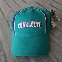 Vintage New Charlotte Hornets Strapback Hat by Sports Specialties Cap 90s