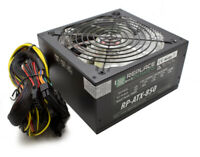 Replace Power 800W ATX Gamer Power Supply Red LED SATA 12V PCI-E