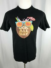 DGK All Day Men's T-Shirt Size Large Coconut Drink