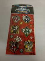 Sandylion Vintage Power Rangers Light speed Rescue Stickers 2 Sheets RETIRED NEW