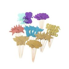 39PCS Mermaid Star Decorative Cupcake Topper for Birthday Mermaid Cupcake Topper
