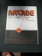 ARCADE No.51, 1936 REPRINT CATALOG ,EX NR