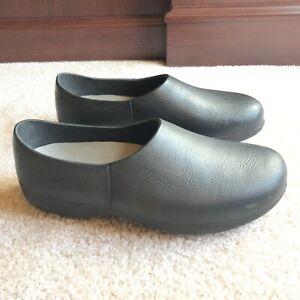 ANA TECH Walk The Walk Pro Body Black Polyurethane Shoes Clogs Womens 42 10.5-11