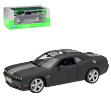 Welly 1:24 2012 Dodge Challenger SRT Diecast Metal Model Car Toy New Matte Black