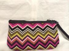 MISSONI For Target Passione Zig Zag Chevron Knit Clutch Bag New