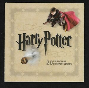 #4825-4844 Harry Potter (forever) 2013 Issue-MNH Foldout Booklet of 20 different