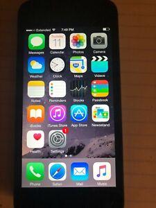 Apple iPhone 5 A1429 Black MD654LL/A 1.3 GHz Processor CDMA(Verizon/Sprint)