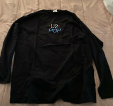 U2 Pop long sleeve shirt. black. X-large