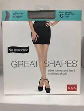 cc08621c3ae7e No Nonsense PANTYHOSE Great Shapes All-Over Shaper Sheer Toe Suntan size C