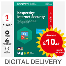 Kaspersky Internet Security 2019 (1PC) Antivirus Multi-Device Genuine License