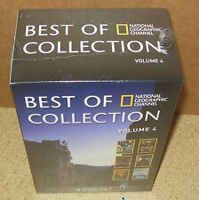 BEST OF NATIONAL GEOGRAPHIC CHANNEL VOLUME 4 (6-DVD 2013) BOX SET SEALED-NEW
