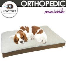 [2 Size] Orthopedic Pet Dog Bed Memory Foam Mattress Mat Soft Sherpa Non Slip