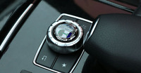 AMG Multimedia Control Badge Alloy Sticker for Benz A B E CLA GLA GLE CLASS