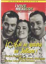 DVD - Asi Se Quiere En Jalisco ! NEW Jorge Negrete FAST SHIPPING !