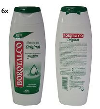 6 BOROTALCO Idratante Duschcreme shower gel Schaumbad foam bath Badeschaum 500ml