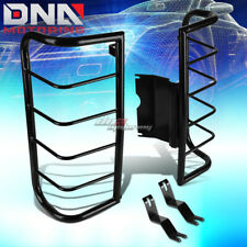 FOR 06-10 HUMMER H3 SUV BLACK COATED STEEL TAIL LIGHT/LAMP CAGE GUARD+MOUNTING