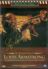 LOUIS ARMSTRONG (AN INTIMATE PORTRAIT OF THE FATHER OF JAZZ ) NEW DVD
