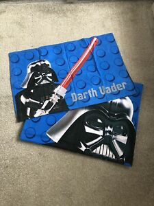 Lego Star Wars Single Darth Vader Bed Set