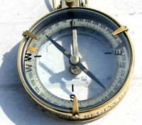 """3"""" Nautical Spencer Compass Vintage Working Directional Pocket Compass Perfect G"""