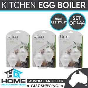 144x Hard Boiled Egg Cooker Boiler Egglettes Cooking Tool Kitchen Home Utensil