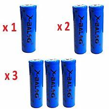 1x 2x 3x BATTERIA BATTERIE 18650 PILE RICARICABILE LITIO 8800 mAh 3.7v PILA LED