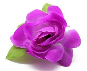 Hawaii Hair Clip Lei Party Luau Gardenia Flower Dance Beach Photo Purple