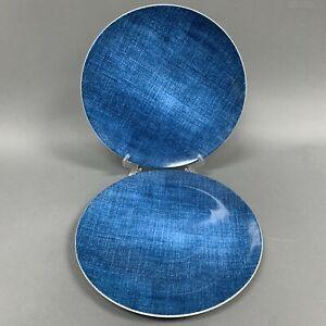 Studio Nova Chop Chop Plates Blue Denim Y0725 Oven Microwave Dishwasher Safe - 2