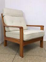 70er Jahre Teak Sessel Easy Chair Loungechair Denmark Danish Modern Design 70s