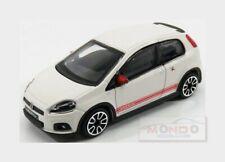 Fiat Grande Punto Abarth 2014 White BURAGO 1:43 BU30198W Model
