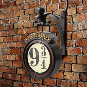 HARRY POTTER HOGWARTS Express Wand Licht GLEIS 9 3/4 London Nachtlicht Wanddeko