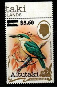 AITUTAKI SG461 1983 $5.60 on $5 BIRDS MNH
