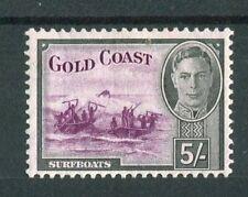 Gold Coast KGVI 1948 5s purple & black SG145 MNH