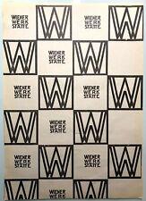 Wiener Werkstatte Original Gift Wrap Sheet, 1900-1910, Design by Koloman Moser