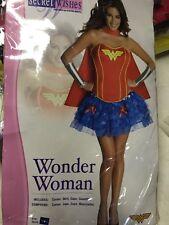WONDER WOMAN ADULT FLIRTY MD Rubie Costumes RU880560MD