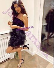 Black Zara Mini Dress Tulle Ruffles L Large 12 New