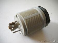 Used Arrow-Hart NEMA L5-20P Twist-Lock Plug, 20 Amp, 125 Volt, 6202